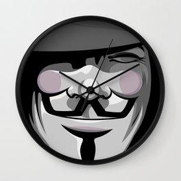 Vendetta Wall Clock