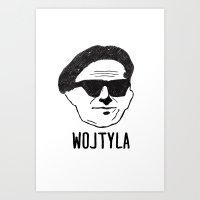 Wojtyla Art Print