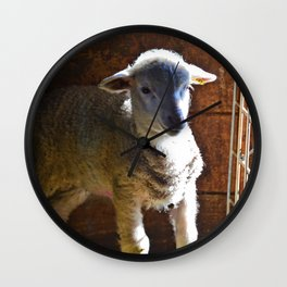 Little Lamb Wall Clock