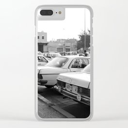 Taxi Clear iPhone Case
