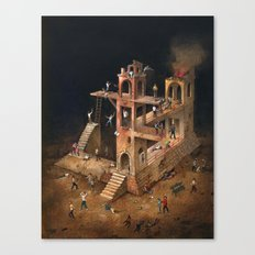 Violence Canvas Print