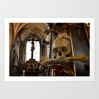 Bone Church Art Print