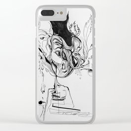Banal Clear iPhone Case