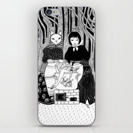 Cabbage soup iPhone Skin