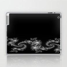 Black with Shine Laptop & iPad Skin