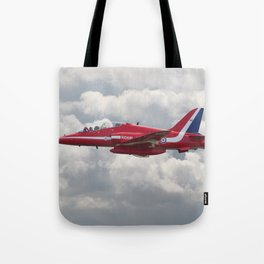 Red Arrows  - HS Hawk Tote Bag