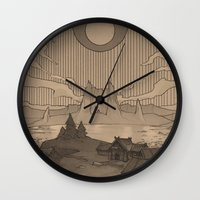 skyrim Wall Clocks featuring Karstaag by Hieronymus7Z