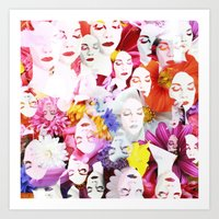 ultraviolence Art Prints featuring Ultraviolence by Kat Heroine