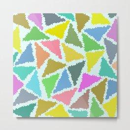 Geometric Pattern II Metal Print