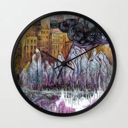 The Pop Is Dead Wall Clock