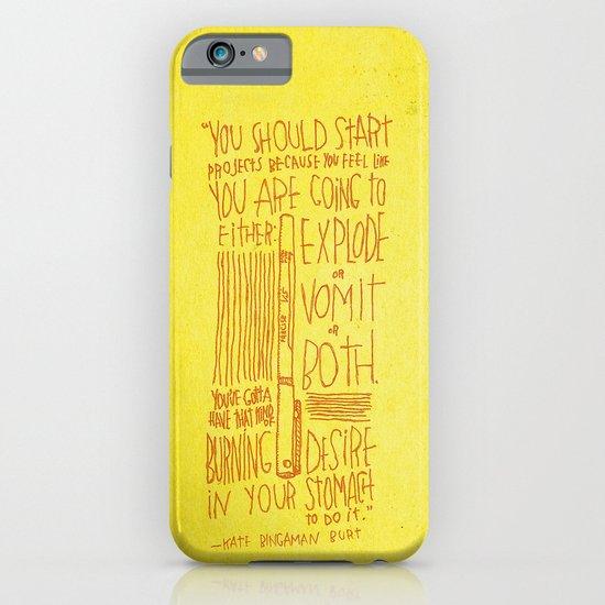 Kate Bingaman Burt iPhone & iPod Case
