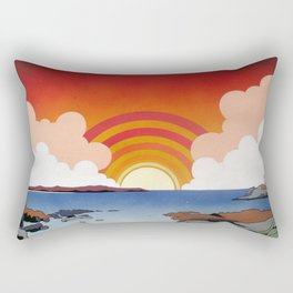 Godrevy and St. Ives Bay Rectangular Pillow
