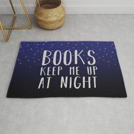 Books Keep Me Up At Night - Stars Rug