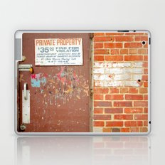 Private Property Laptop & iPad Skin