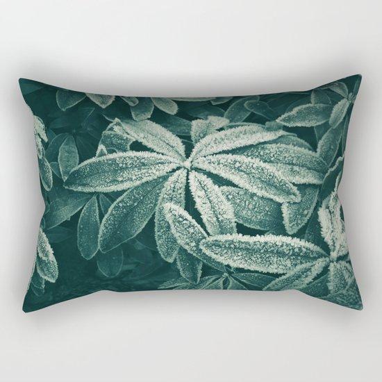 Frozen Greens Rectangular Pillow
