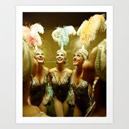 1950's Showgirls Art Print