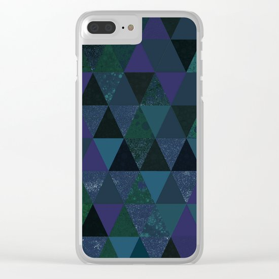 Abstract #431 Clear iPhone Case