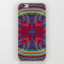 Uppermost Consumerism Mandala 1 iPhone Skin