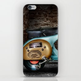Traveling Melody iPhone Skin