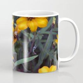 Small Orange Flowers Coffee Mug
