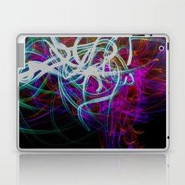 Abstract light painting Laptop & iPad Skin