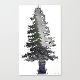 Tall Trees Cold Seas Canvas Print