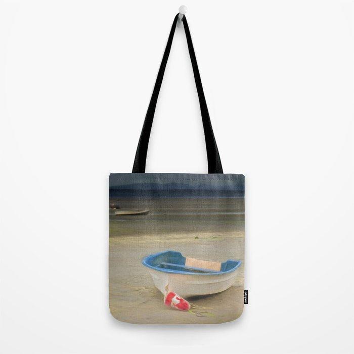 White Storm Tote Bag