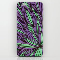 Fabulous flowers iPhone & iPod Skin