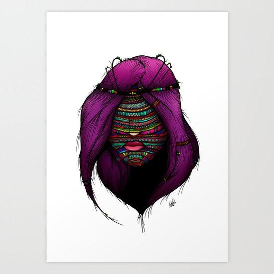 Colorful Roots (Color Version) Art Print