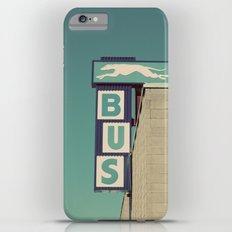 Greyhound Bus Sign iPhone 6s Plus Slim Case