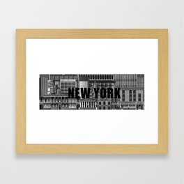 BUILDINGS SERIES 1 Framed Art Print