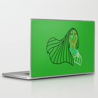 pocahontas Laptop & iPad Skins featuring Pocahontas - Disney by DanielBergerDesign