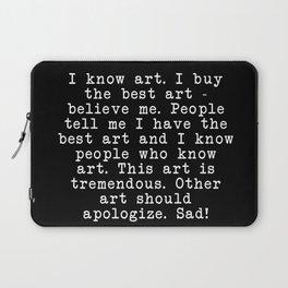 Tremendous Art Laptop Sleeve