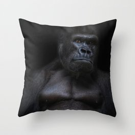 the body Throw Pillow