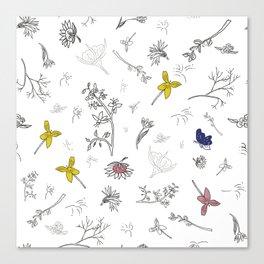 Flower passion Canvas Print