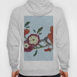 Flowering tree branch Hoody