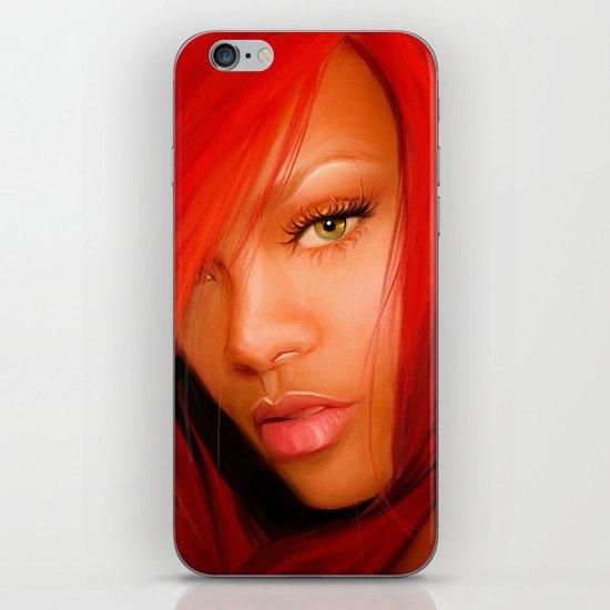 THEM SOFT LIPS iPhone & iPod Skin