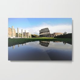 The Eternal City Metal Print