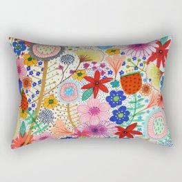fleur-moi Rectangular Pillow