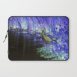 Neon Bird Laptop Sleeve