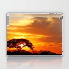 African sunrise Laptop & iPad Skin