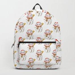 Cute Little Snowman Backpack