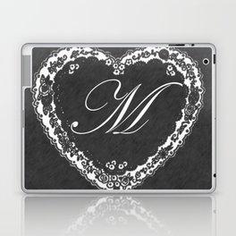 M Vintage Valentine Chalkboard Laptop & iPad Skin