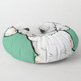 Gracie the Bichon Floor Pillow