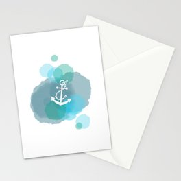 Under the Sea - Anchor Stationery Cards