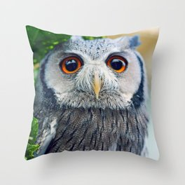 Voo Voo II Throw Pillow