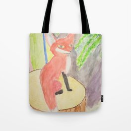 Fox of Karlie Tote Bag