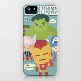 avengers fan art iPhone Case