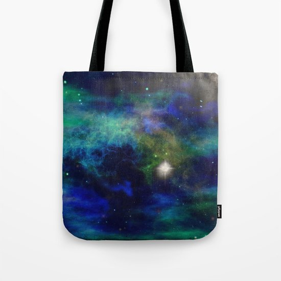 Stars and Waves Tote Bag