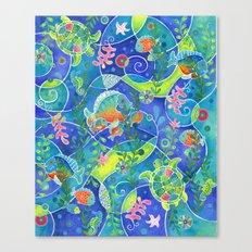 Undersea World Canvas Print